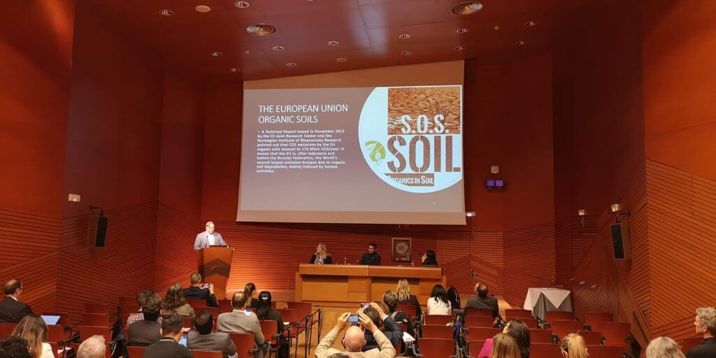 The launch of the Initiative SOS Soil